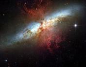 ساطع شدن امواج رادیویی بسیار مرموز از یکی از کهکشانهای نزدیک